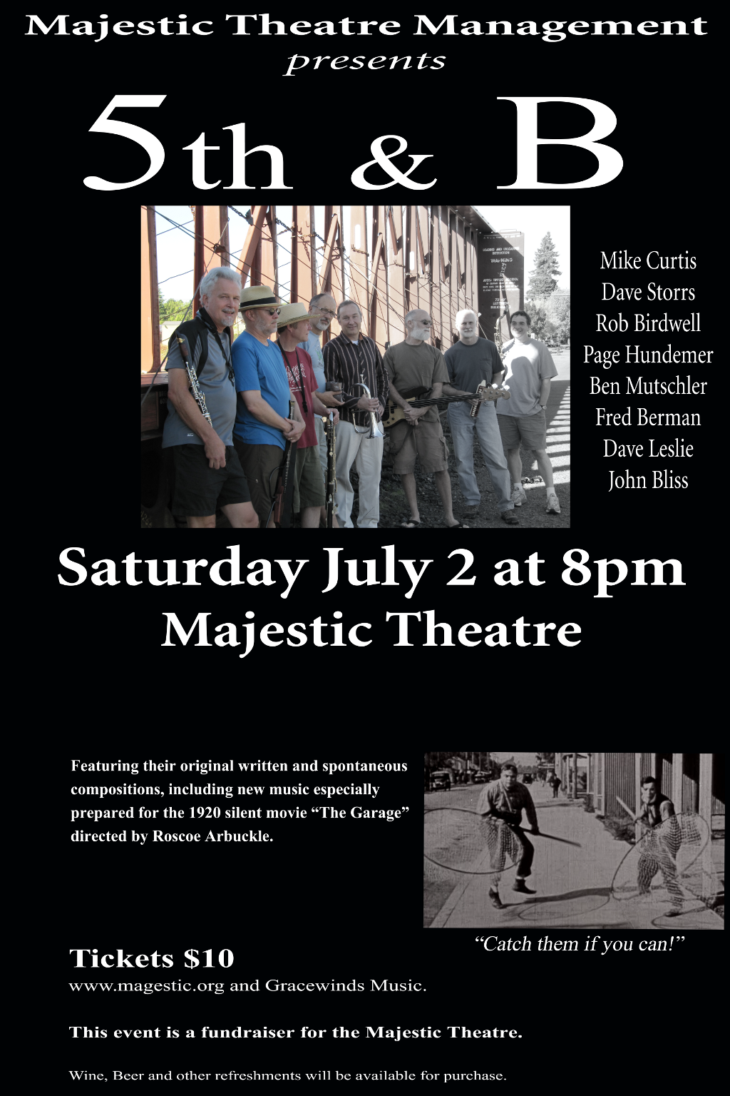 5th & B Play Majestic July 2 2011