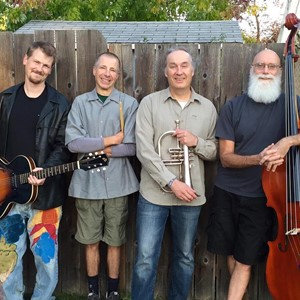 We are a 4-piece combo with a repertoire that includes originals and covers ranging from Bach to Bacharach to Zappa.